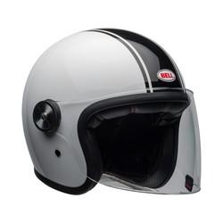 Riot Helm Rapid Gloss Weiß / Schwarz