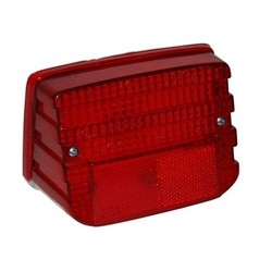 Taillight Glass Honda MT / MB Red