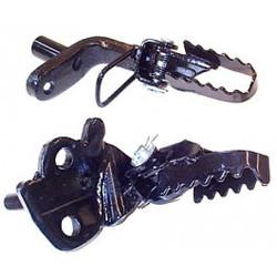 Peg Set Honda MT Foldable Black