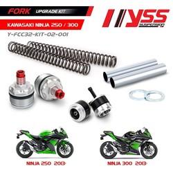 Kit de mise à niveau de fourche Kawasaki Ninja 250/300 13-17