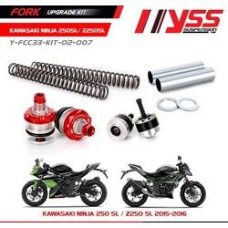 Kit de mise à niveau de fourche Kawasaki Ninja 250SL 15 <; Z250SL 15 <