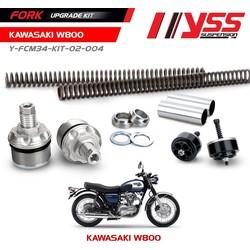 Kit de mise à niveau de fourche Kawasaki W800 11 <