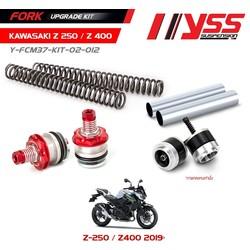 Kit de mise à niveau de fourche Kawasaki Z400 / Z250 19 <