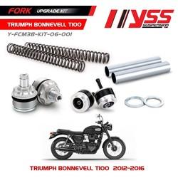 Kit de mise à niveau de fourche Triumph Bonneville T100 12-16