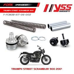 Kit de mise à niveau de fourche Triumph Street Scrambler 900 17-18