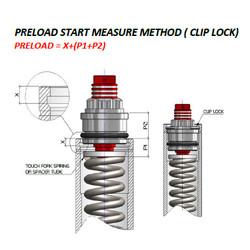 Kit de mise à niveau de fourche Yamaha MT-03 16-18; YZF-R3 15-18; YZF-R25 14-18
