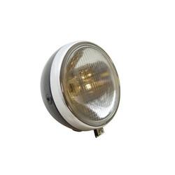 Headlight Zundapp Round 17cm Black / Chrome