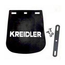 Schmutzfänger Kreidler 14x17 Schwarz