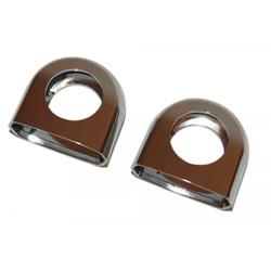 Handlebar Clamp Cover Set Kreidler Chrome