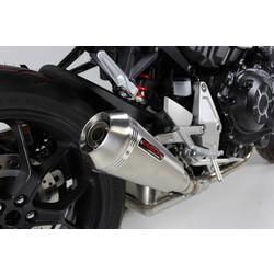 RVS compleet uitlaatsysteem Yamaha MT 07 (selecteer kleur)