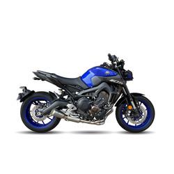 MK2 RVS compleet uitlaatsysteem Yamaha MT-09 13-19, XSR 900 16-19, Tracer 900 13-19 (Selecteer kleur)