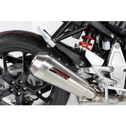 Compleet uitlaatsysteem RVS Yamaha MT-09, XSR 900 (Selecteer kleur)