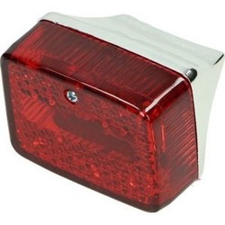 Rear light Puch Maxi Chrome / Red