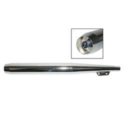 Pot d'échappement Puch Maxi KS 70mm Chrome 28mm