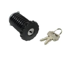 Bouchon de réservoir + Lock Puch Maxi Black