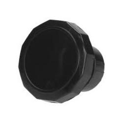 Bouchon de réservoir noir pour cyclomoteur