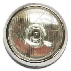 Headlight-Installation Set Puch MS / MV Chrome