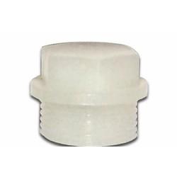 Bouchon de remplissage d'huile Puch Foot Gear PVC Blanc