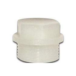 Oil filler plug Puch Foot Gear PVC White