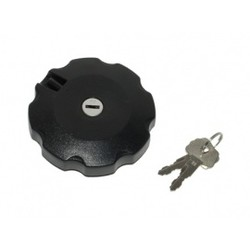Fuel Cap + Lock Honda MTXsh Black