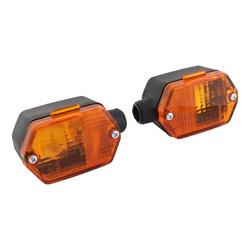 Raw-Bol Flashing light Simson Mopeds Chrome