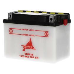 Batterie CB 4L-B (YB 4L-B) 121x71x92