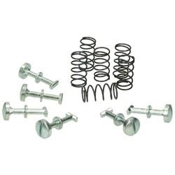 Side cap bolt Set Vespa SI / Bravo 12 Pieces