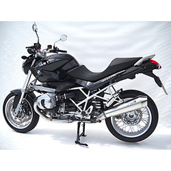Silencieux arrière BMW R 1200 R, 10-11, Stainless satin, slip on, E-Marked