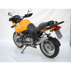 Silencieux arrière BMW R 850/1150 GS / 1150 R, Stainless satin, slip on, E-Marked