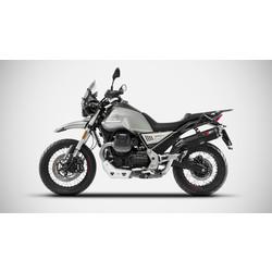 Moto Guzzi V85 TT, Bj. 2019-, enfiler 2-1, marqué E