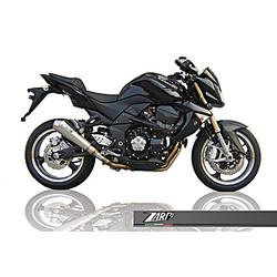 Pot d'échappement Kawasaki Z 750, 07-, Inox, slip on, E-Marked, + Cat.