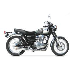 Uitlaatsysteem Kawasaki W 800 Tapered Round Full Kit 2-1