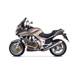 Uitlaat Moto Guzzi Norge 1200, RVS, slip on, E-Marked, ab 2011