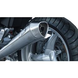 Uitlaat Moto Guzzi 1200 Sport (2V), RVS, slip on, E-keur, + Cat.