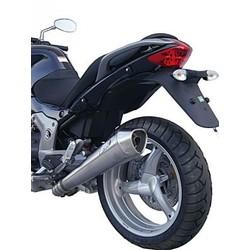 Uitlaat Moto Guzzi Breva V 1200, RVS, slip on, E-Marked, + Cat., Ab 2011
