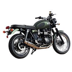 Uitlaatsysteem Triumph Scrambler / Bonneville / Thruxton, Carb. Model