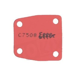 Benzinepomp Membraan Rubber Solex (Selecteer Kleur)