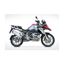 PENTA-Exhaust  BMW R 1200 GS, 13-, Carbon, 2-1, slip on, E-Marked