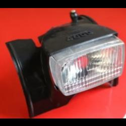Scheinwerferabdeckung Solex 4800 Schwarz + Schalter