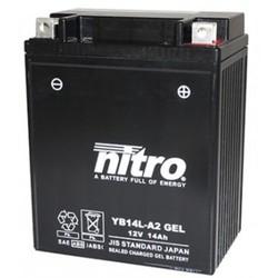 YB12AL-A2 GEL super verzegelde batterij