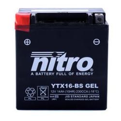 YTX16-BS Super verzegelde batterij