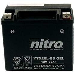 YTX20L-BS Super versiegelte Batterie