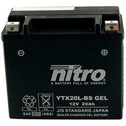 YTX20L-BS Super verzegelde batterij