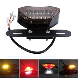 Taillight With Integraded Indicators 'Clear'