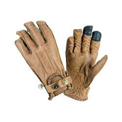 Second Skin Handschuhe Damen - Senf