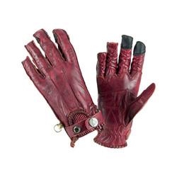 Second Skin Handschuhe Damen - Granat