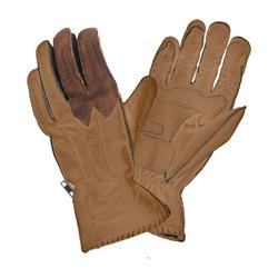 Winter Skin gloves - musterd/brown