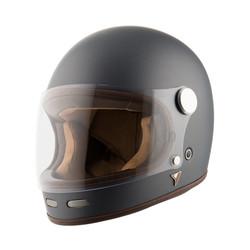 Roadster II Helm - mattgrau