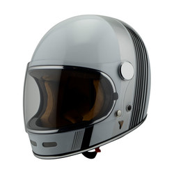 Roadster White II helm - wit