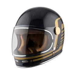 Roadster Carbon Helm - blau